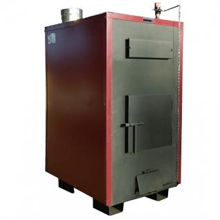 Буржуй-К Т-50А – твердотопливный пиролизный котел с автоматическим регулятором тяги мощностью 50 кВт-6762607