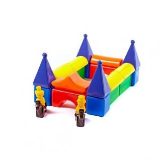 """Строительный набор кубиков """"Постоялый двор 2"""", 24 шт. Счастливое детство-37745898"""
