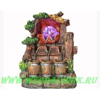 Декоративный фонтан | Настольный для дома | Грот 28 см.-5254817