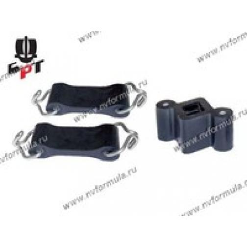Крепеж глушителя 2101-07 21 2-а ремня с крючками домик Балаково ОАО БРТ-422306