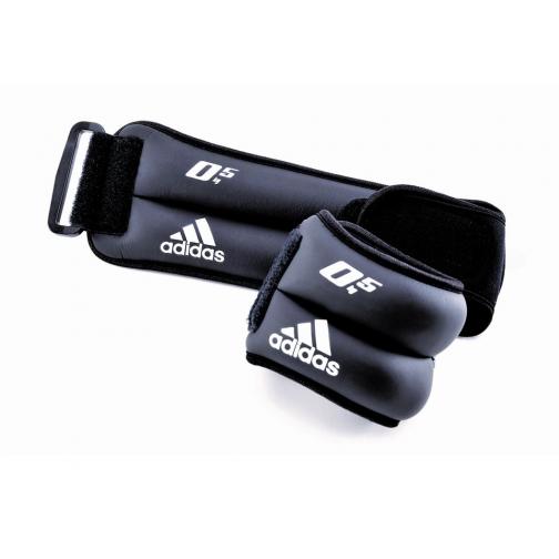 Adidas Утяжелители на запястья/лодыжки (2шт х 0,5кг) Adidas ADWT-12227-452779