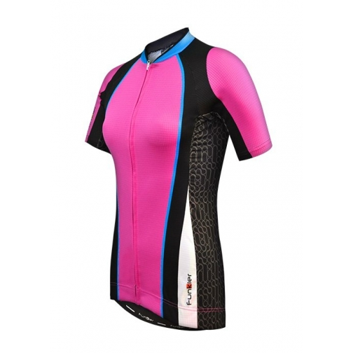 Велофутболка 15-076 женская WJ-781 Pink розовая S FunkierBike-1999411
