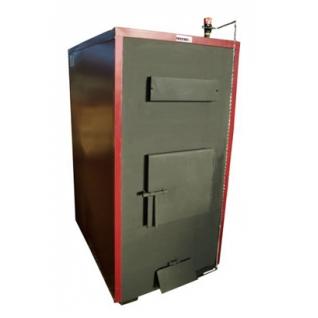 Буржуй-К Т-75А – твердотопливный пиролизный котел с автоматическим регулятором тяги мощностью 75 кВт-6762609