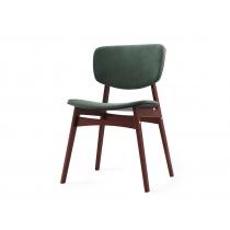 Мягкий стул SID Тёмная берёза + красно-коричневый