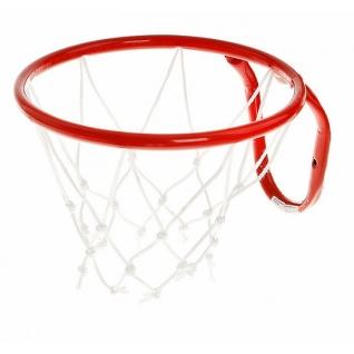 Металлическая баскетбольная корзина, красная, 29.5 см ЧП Максимов-37748182