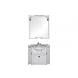 Комплект мебели угловой для ванной Aquanet 00167691-11491466