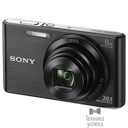 """Sony Sony CYBER-SHOT DSC-W830 DSCW830B.RU3 Black 20.1Mpix,8x opt zoom,2.7""""LCD-5802674"""