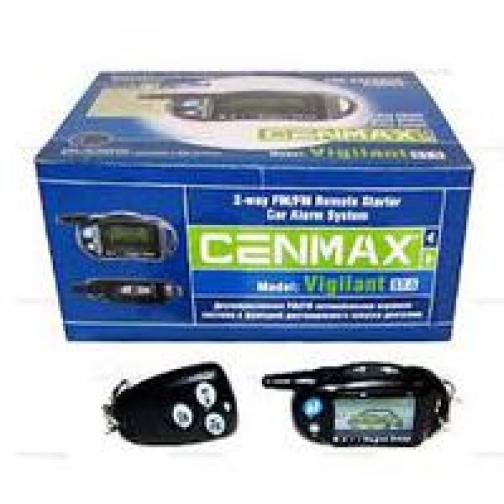 Автосигнализация Cenmax Vigilant V- 5A ж/к обратная связь-9060210
