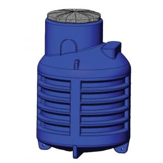 Пластиковый кессон для скважины и резервуар КНС