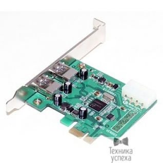 5bites 5bites CE170G-U3 5bites Контроллер PCI-E, 2*USB3.0 EXT, питание 4PIN