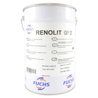 Смазка FUCHS RENOLIT GP2 18кг-5921145