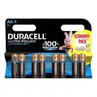 Батарейка DURACELL UltraPower AA/LR6, 8шт/бл