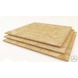 Листовые, древесно-плитные материалы для наруж.и внутр.отделки,(OSB-3) OSB-3 (ОСП или ОСБ) Кроношпан 2500*1250*12 мм-501990
