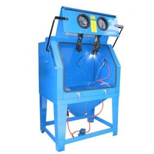 Пескоструйная камера с электродвигателем для очистки воздуха 220B(объем-990л,510л/мин, 3.4-6.1атм) Forsage-6002691