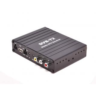 Автомобильный цифровой HD ТВ-тюнер DVB-T2 компактного размера AVIS AVS7000DVB Avis-833493
