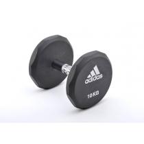 Adidas Гантель обрезиненная Adidas ADWT-10322 10 кг