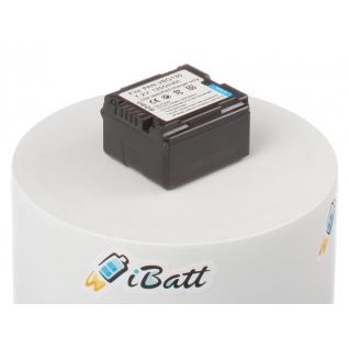 Аккумуляторная батарея iBatt для фотокамеры Panasonic HDC-SD200. Артикул iB-F320