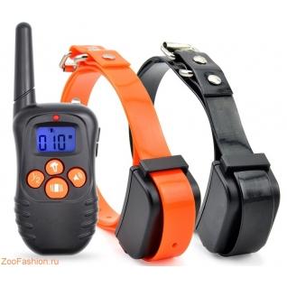 Электронный ошейник для дрессировки PET998N для двух собак (18-68см)-9317363