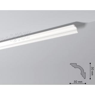 Карниз из полистирола под покраску NMC Nomastyl Plus A2 2000x50x50-36983094