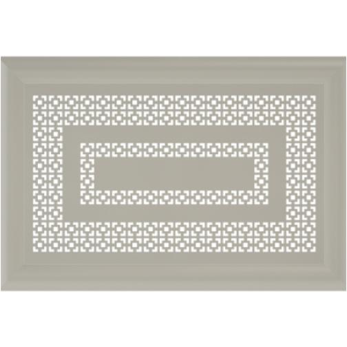 Декоративный экран Квартэк Эллада 600*600 (металлик)-6769064