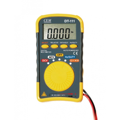 Карманный цифровой мультиметр СЕМ DT-111-6766011