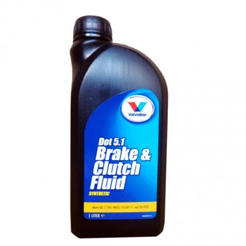 Тормозная жидкость VALVOLINE BRAKEFLUID DOT 5.1 1л-5990720
