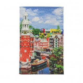 Обложка на паспорт (пластик.поля) Город лего 1091