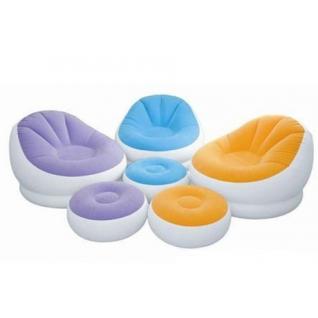 Кресло надувное с подставкой для ног Intex-37711840
