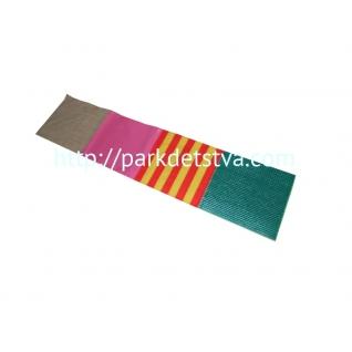 Сенсорная дорожка из тканей разных шероховатостей-6830131