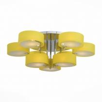 Люстра потолочная St Luce Хром/Желтый E27 9*60W