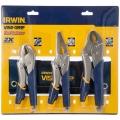 Щипцы Irwin набор 3 шт в сумке (10WR.7R.9LN), мягкие быстро разжимные рукоятки