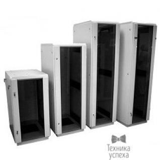 Цмо ЦМО! Шкаф телеком. напольный 27U (600x600) дверь стекло (ШТК-M-27.6.6-1AAA) (2 коробки)-2746839