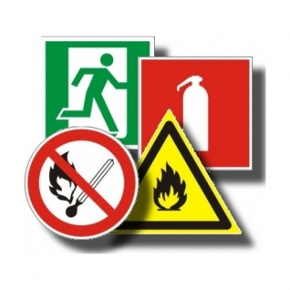 Знаки пожарной безопасности (фотолюминесцентные)-715973