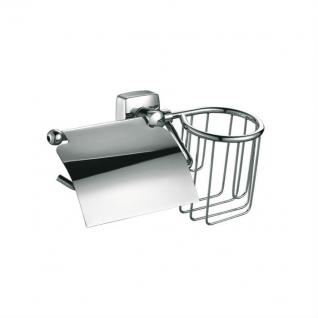 Держатель туалетной бумаги Fixsen Kvadro FX-61309+10 с держателем для освежителя-6761182