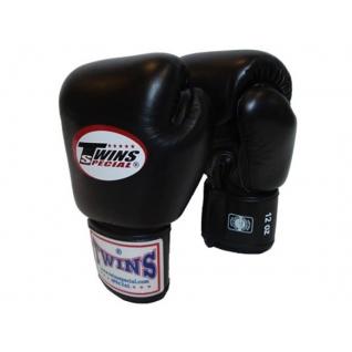 Twins Special Перчатки боксерские Twins BGVL-3, 16 унций, Черный