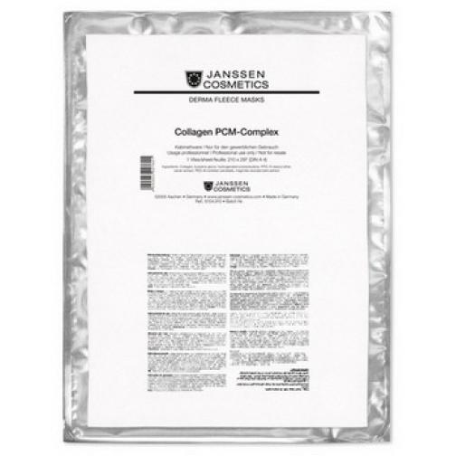 Janssen Dermafleece Collagen Fleece Mask PCM-COMPLEX - Коллагеновая биоматрица с PCM-комплексом-4943146