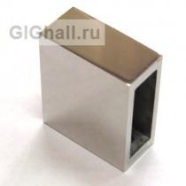 Коннектор для профильной трубы 10*30 мм - квадрат
