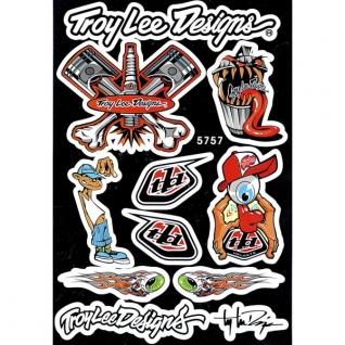 Наклейки набор (23х36) Troy Lee Designs-1025842