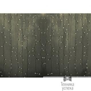 """Neon-night Гирлянда """"Светодиодный Дождь"""" 2х3м, постоянное свечение, прозрачный провод, 220В, диоды ТЕПЛО-БЕЛЫЕ 235-156-6"""