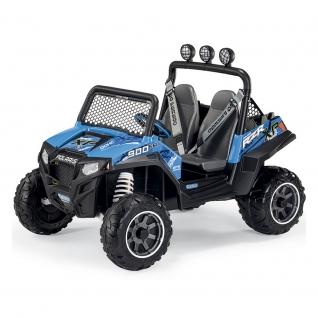 Детский электромобиль Polaris Ranger RZR 900, голубой Peg Perego-37716081
