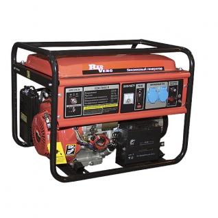 Генератор бензиновый RedVerg RD6500EB (5,5 кВт)