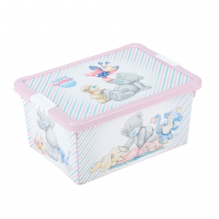 Ящик для игрушек Me To You, розовый Бытпласт-37729345