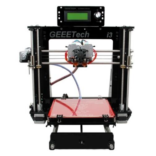 3D принтер Geeetech Unassembled Prusa I3 pro C dual extruder 3D printer DIY-6011734