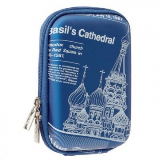 Чехол для фотокамеры Riva 7103 (PU) Digital Case light blue (travel)