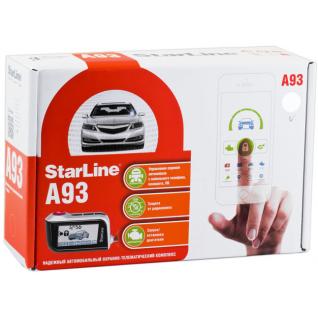 Автосигнализация Starline A93 GSM-7154385