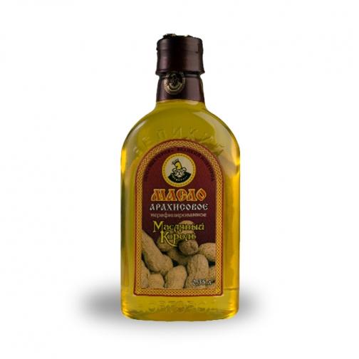 Масло арахисовое «Масляный Король», 0.35 л, ПЭТ-822594