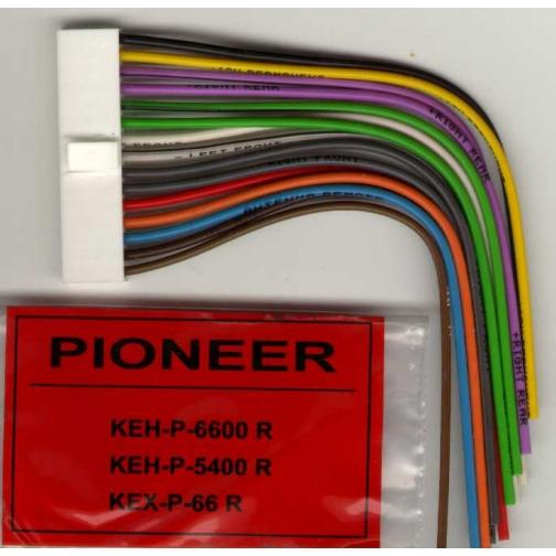 Разъем для автомобильной магнитолы PIONEER KEH - 6600-1312869