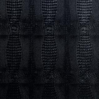 Кожаные панели 2D ЭЛЕГАНТ Crocodile (черный) основание пластик, 1200*2700 мм-6768795