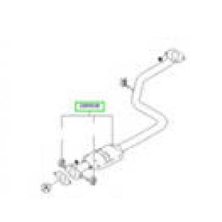 Hyundai Accent / Хёндай Акцент ТАГАЗ Резонатор 28650-25000-413785