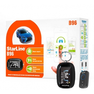 Автосигнализация StarLine B96 2CAN+2LIN StarLine-9218273